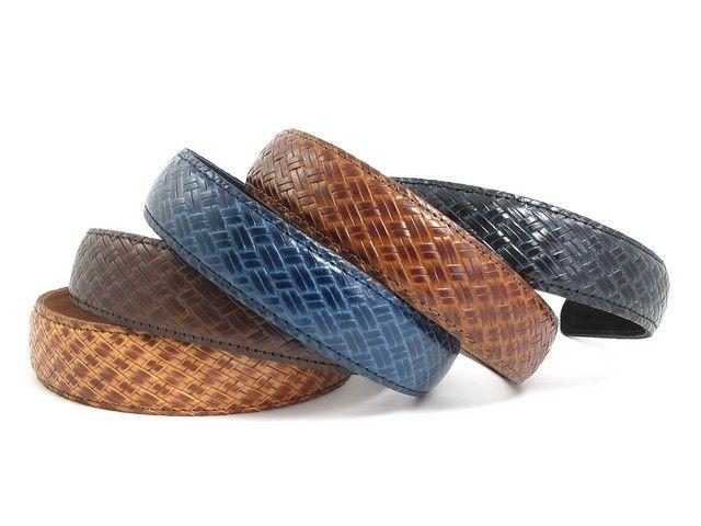 Ægte læder hårbøjle - 3 cm - ALL