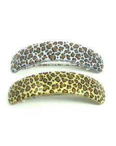 Coline Leopard Hårspænde – 9 cm