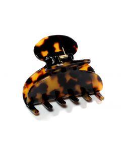 Couture 6.5 cm hårklemme - Onyx
