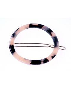 Clarisse Circle Tige Boule Hårspænde - Ivory