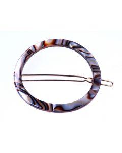 Clarisse Circle Tige Boule Hårspænde - ONYX