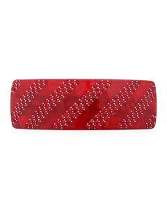 Crystal Stripes Hårspænde (RED)