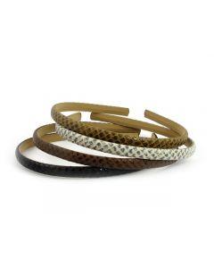 Slangeskinds hårbøjle - 1 cm